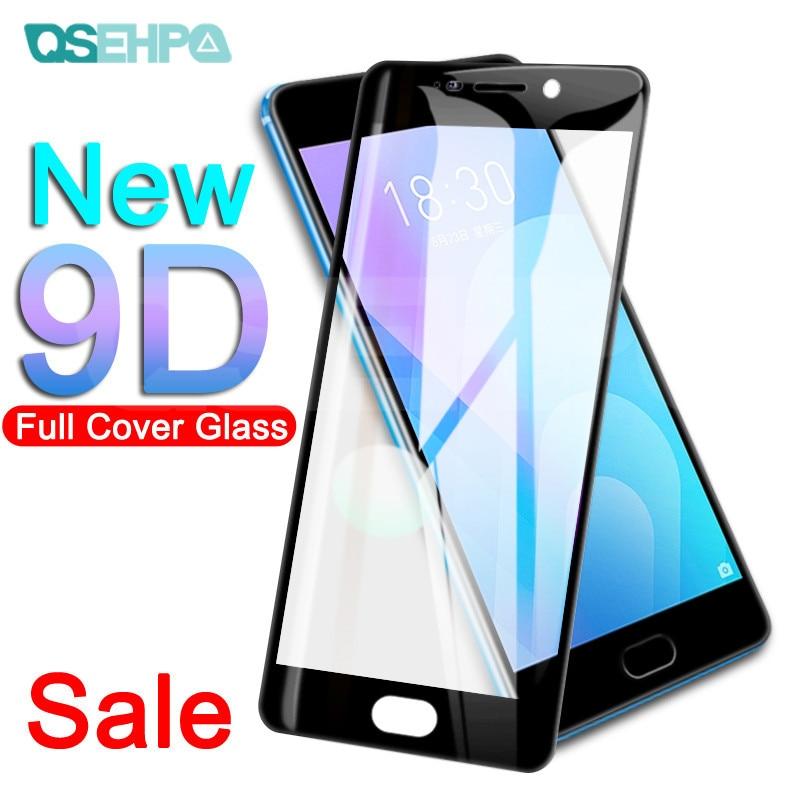 9D Full Cover Tempered Glass For Meizu M8 Lite M8 M6 M5 Note M6S M6T M5S M5C V8 Pro Screen Protector Protective Glass Film