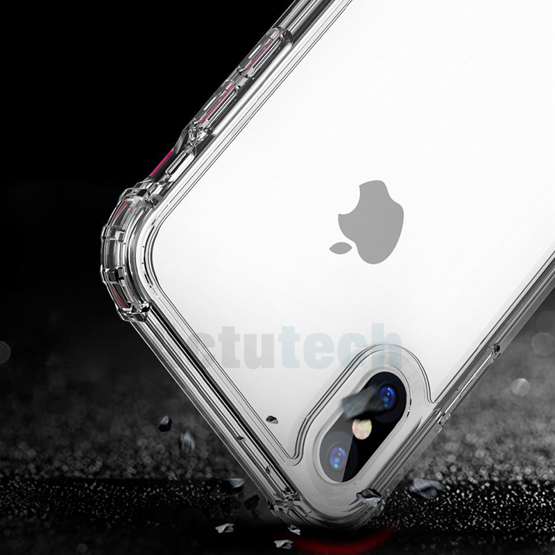 Shockproof TPU Case sfor iPhone X XR XS Max 7 8 Plus 6s iPone 6 s iphonex Coque Silicon Cover Protective Case Phone Accessories Pakistan