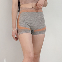 Woman tingh Yoga Shorts Fitness Gym Workout Shorts Running Stretchy Sport Shorts Tummy Control Booty shorts