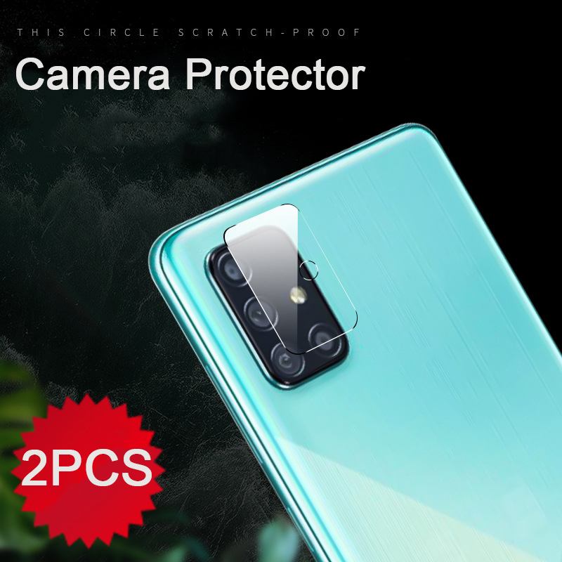 2pcs Camera Lens Tempered Glass Protector For Samsung Galaxy A51 A50 A50S A70s A70 A71 A7 2018 A 50 50s 51 70 71 Protective Film