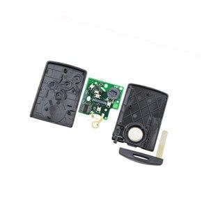 Image 5 - Wilongda 4ปุ่มรีโมทกุญแจรถKeylessระบบ434Mhz Pcf7953 Hitag AESชิปสำหรับRenault Clio 4 Keyอุปกรณ์เสริมหลังจาก2013