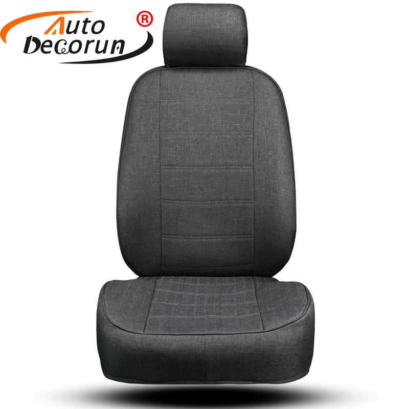 AutoDecorun Dedicated Flax Cover Seats Car Set for <font><b>Mercedes</b></font> Benz CLK <font><b>w208</b></font> <font><b>Accessories</b></font> Seat Covers for Cars Seat Cushion Supports image