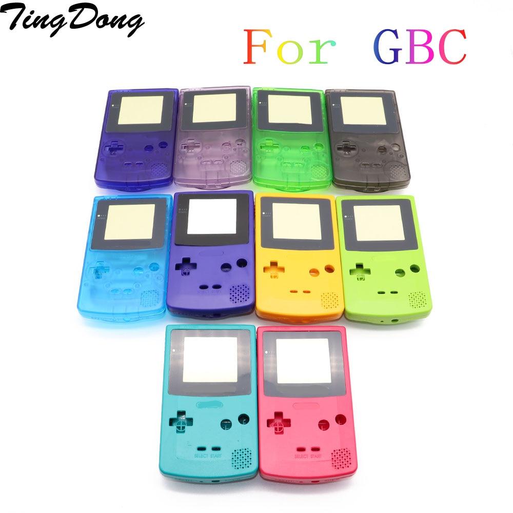11 комплектов для игры мальчик Запчасти для Gameboy чехол Чехол для корпуса для GBC