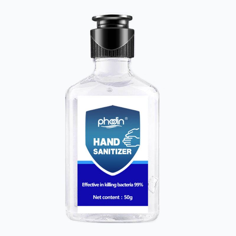 50ml 99% Antibacterial Disinfectant Gel Alcohol Hand Sanitizing Refresh Soap Liquid
