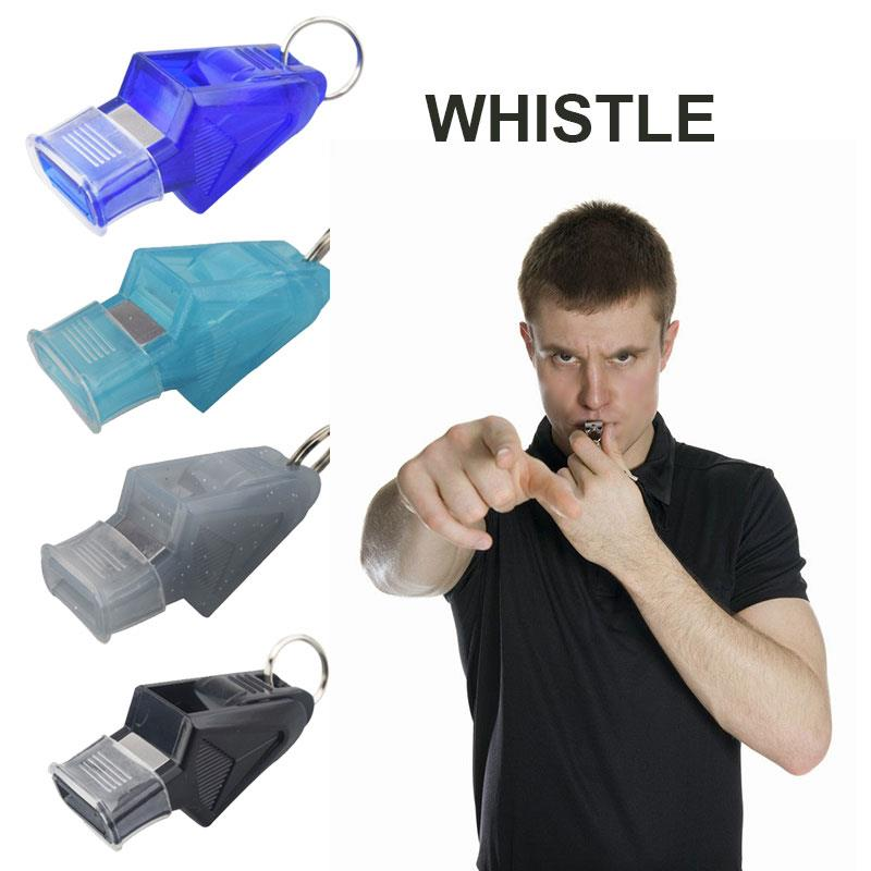 Whistle Survival Whistle Match Referee Football 130dB Four Pieces Sports Referee Whistle Game Basketball Sprint Playing Field