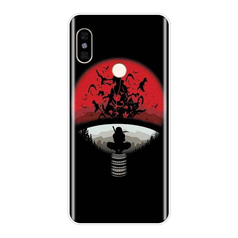 Ponsel Case untuk Pocophone F1 Xiaomi Redmi Note 4 4X 5 5A 6 Pro Prime Redmi S2 4A 4X 6 6A 5 Plus Silikon Itachi Uchiha Penutup Belakang