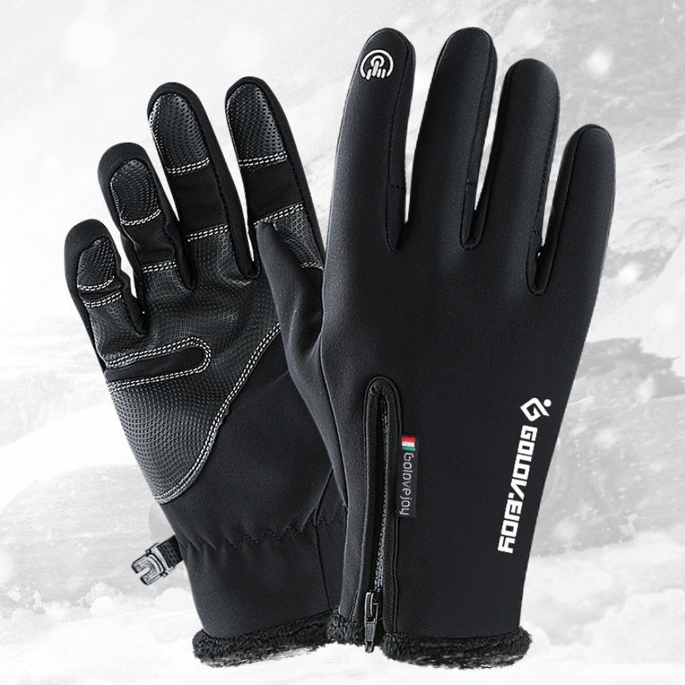 Outdoor Riding Gloves Windproof Waterproof Ski Winter Warm Unisex