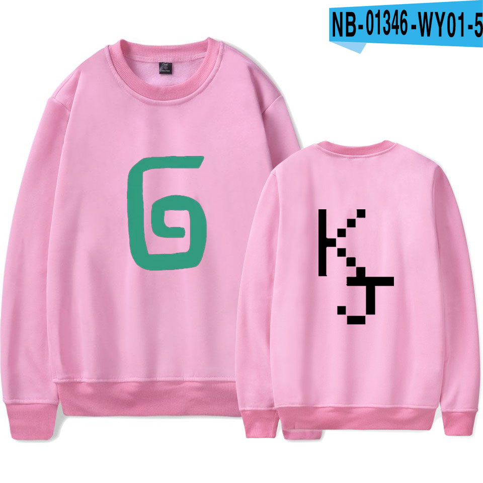 2021 Karl Jacobs Cute Style O-neck Sweatshirt Harajuku Streetwear Printed Stylish Outwear Round Collar Pullovers Clothes 7
