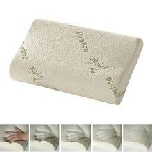 Подушка для сна из бамбука Ортопедическая подушка с эффектом памяти Oreiller Подушка здоровая «дышащая» подушка Ортопедическая для шеи облегчение усталости
