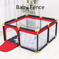 Children's Playpen For Baby Fence Toy For Kids Dry Ball Pool Infant Playground Yard Indoor Football Field Toddler Safety Barrier