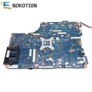 Image 2 - NOKOTION K000083120 K000083110 KSWAA LA 4981P For Toshiba Satellite L500 L505 Laptop motherboard HD GMA DDR2 only free cpu