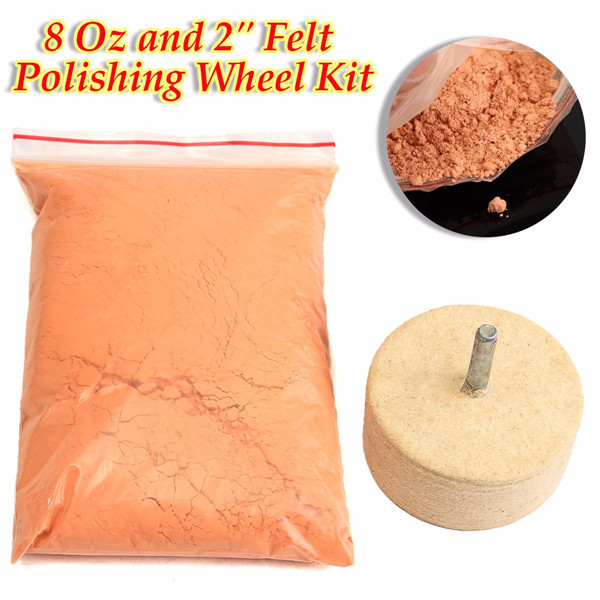 Cerium Oxide High Grade Polishing Powder 8 O Z +2