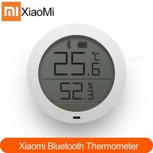 Оригинальный гигротермограф Xiaomi Mijia с Bluetooth, Высокочувствительный гигрометр с ЖК экраном, термометр, датчик, использование с приложением Mijia