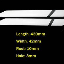 RC Align 500 helicopter parts 430mm Glass Fiber Main Blade f