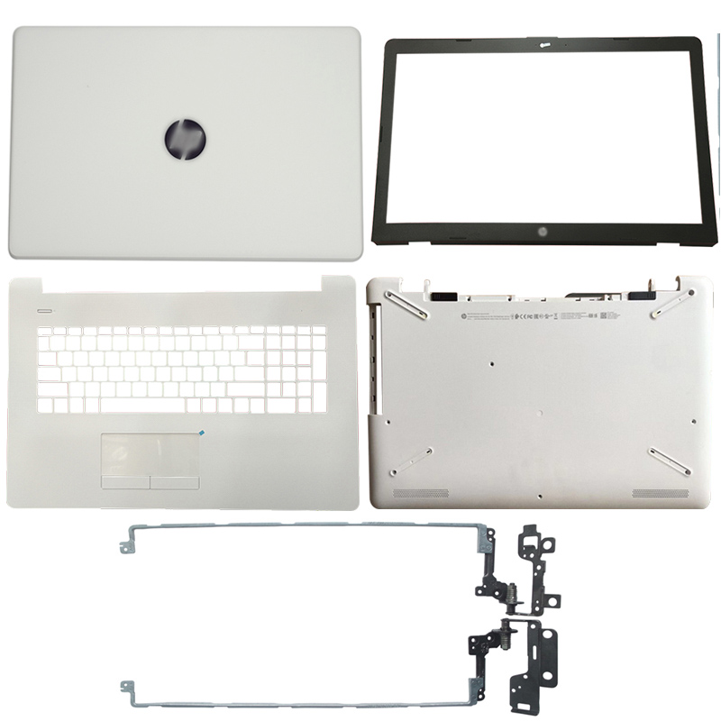 For HP 17-BS/AK/BR Series Laptop LCD Back Cover/Front Bezel/LCD Hinges/Palmrest/Bottom Case 933293-001 926527-001 933298-001