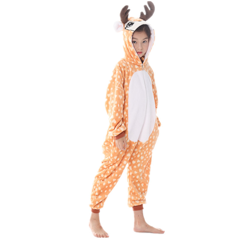 Childrenswear New Style Tianma Kids' One-piece Suit Lion Cartoon One-piece Pajama Animal Pajamas Tracksuit