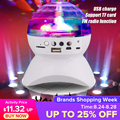 Перезаряжаемый беспроводной bluetooth-динамик  светильник  контроллер  светодиодный  кристалл  магический шар  эффект  светильник  DJ Club Disco  вече...