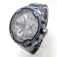 Luxury DZ Blue Watch Display Business Watches for Men Red St