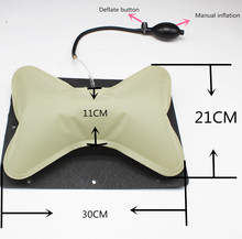 car manual operation Hand operated tournure seat lumbar back headrest waist pillow back support for seat Interior Accessories