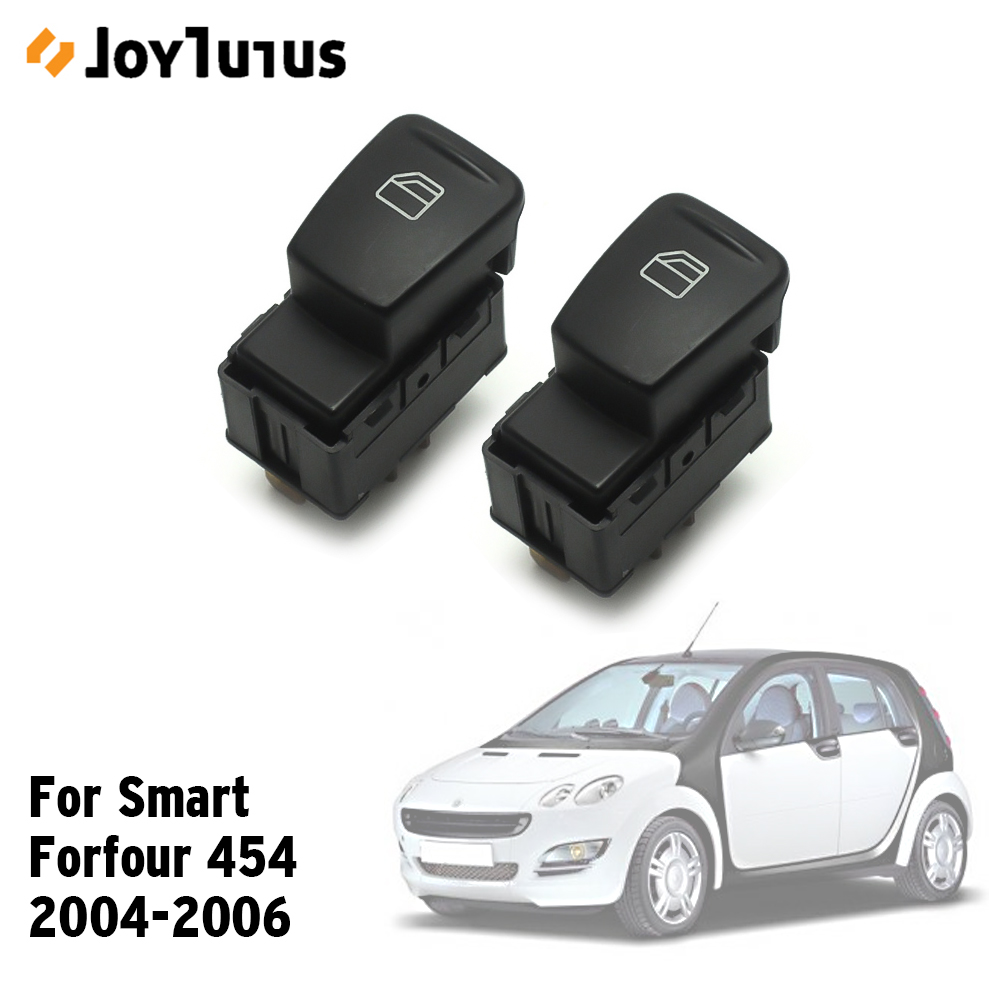 Front Left Right Window Switch For Smart Forfour 454 2004-2006 A4548201010 Hatchback Power