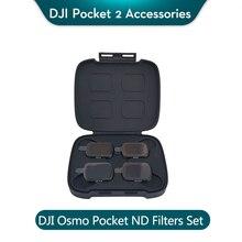 DJI Osmo Tasche ND Filter Set enthält ND4 ND8 ND16 ND32 Filter kompatibel für DJI Osmo Tasche 2 gleich 2/3/4/5 stop filter