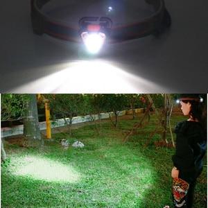 Image 5 - 360 ° Draaien Mini Draagbare Led Koplamp Waterdicht Vissen Koplamp Zaklamp Koplamp Torch Outdoor Camping Head Lamp