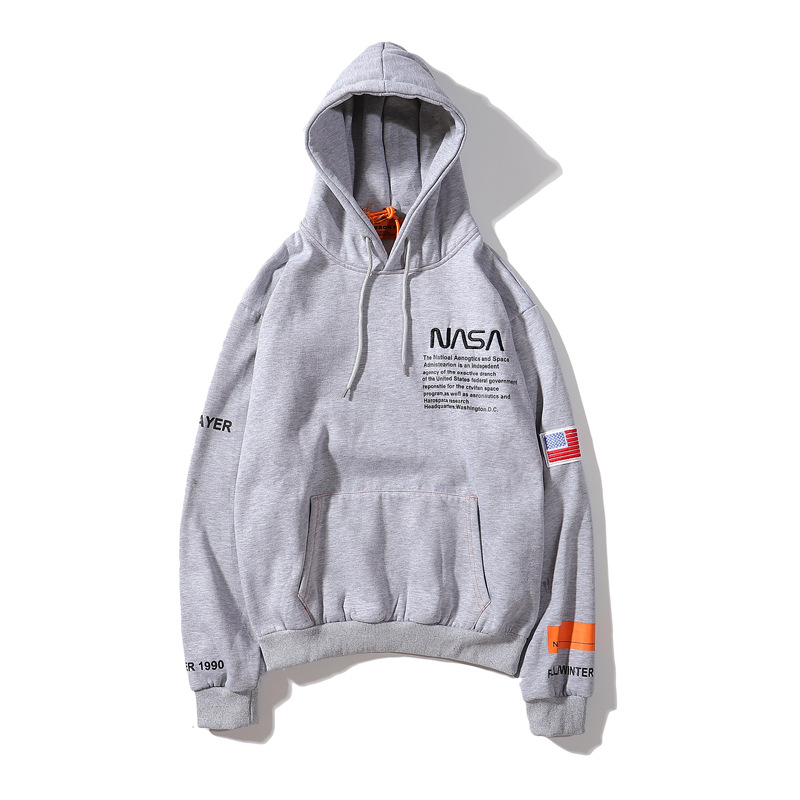 Europe And America Popular Brand Joint Hoodie Loose-Fit Men And Women's Sweats & Hoodies Purchasing Agents Aviation Pilots Pullo
