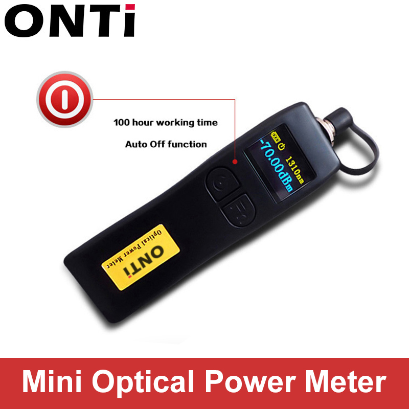 ONTi -70~+6dBm And -50~+26dBm Handheld Mini Optical Power Meter