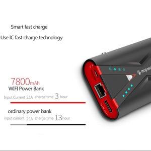 Image 3 - TUOSHIKE 7800mAh Wifi قوة البنك 2.1A سريع تهمة ل فون Xiaomi سامسونج هواوي شاحن هاتف محمول يعمل بنظام تشغيل أندرويد 3G 4G التتابع تجدد Powerbank