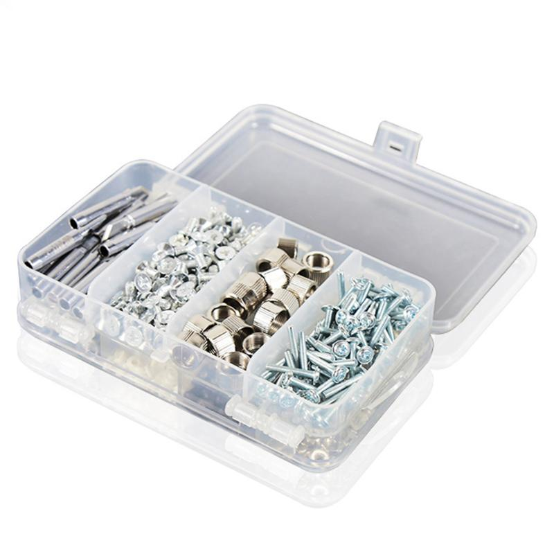 Skill Manufacture 6 Grids Small Parts Container Case Multifunction Portable Mobile Phone Accessories Screws Organizer Box