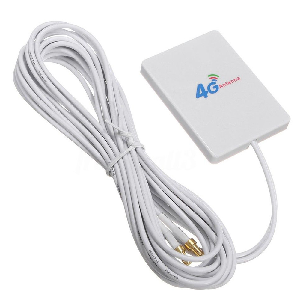 WIFI Durable LTE antena 4G 3G amplificador de señal de banda ancha 28 Dbi Router móvil para HUAWEI pequeño Antena móvil SG7900 U/V Dualband, 144/430Mhz, SG-7900, alta ganancia dBi, Antena de Radio de coche, fuerte Antena de Base de señal, venta al por mayor