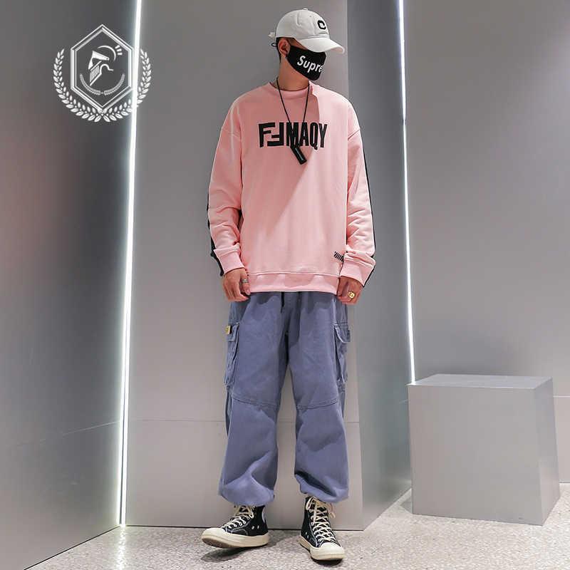 Mannen Losse Safari Stijl Harem Jogger Broek Fashion Pockets Enkellange Hip Hop Broek