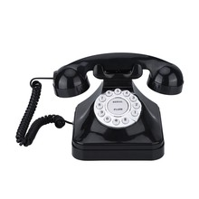 Vintage Telephone Multi Function Plastic Home Telephone Retro Antique Phone Wired Landline Phone Office Home Telephone Desk Deco(China)