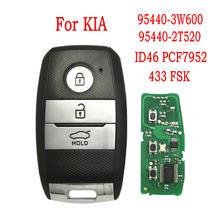 Datong – clé télécommande de voiture mondiale, pour KIA Picanto matin Optima Sportage Sorento 2014 2015 2016 433 FSK ID46 PCF7952