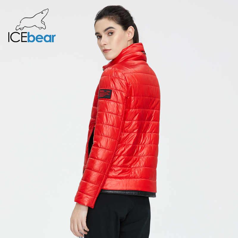 ICEbear 2020 chaqueta de primavera para mujer, abrigo corto de alta calidad, ropa femenina cálida, ropa informal de moda GWC20073I