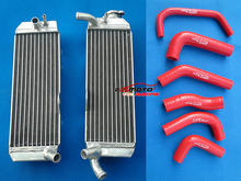L&R Aluminum Radiator+Silicone Hose For Honda XR650 XR650R 2000-2007 01 02 03 04 05 06 07(China)