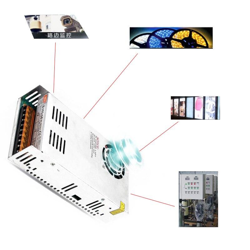 Convertisseur universel d'alimentation à découpage régulé 12V 42A pour bande LED