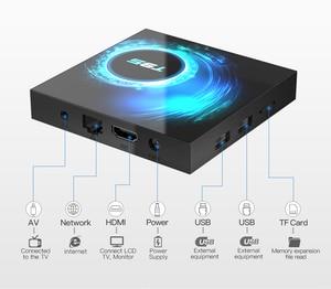 Image 4 - アンドロイド 10.0 tv ボックス 4 ギガバイトの ram 32 ギガバイト 64 ギガバイト rom セットトップボックス T95 allwinner H616 6 18k @ 30fps hd Cortex A53 スマートメディアプレーヤー hdmi 2.0