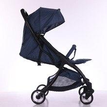 5.6Kg Adjustable Luxury Baby Stroller 3 in 1 Portable High Landscape Reversible Stroller Hot Mom Pink Stroller Travel Pram стоимость
