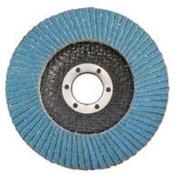 10 pçs discos de aba profissional 115mm 4.5 Polegada discos de lixamento 40 grit rodas de moagem lâminas para moedor ângulo|Polidores|   -