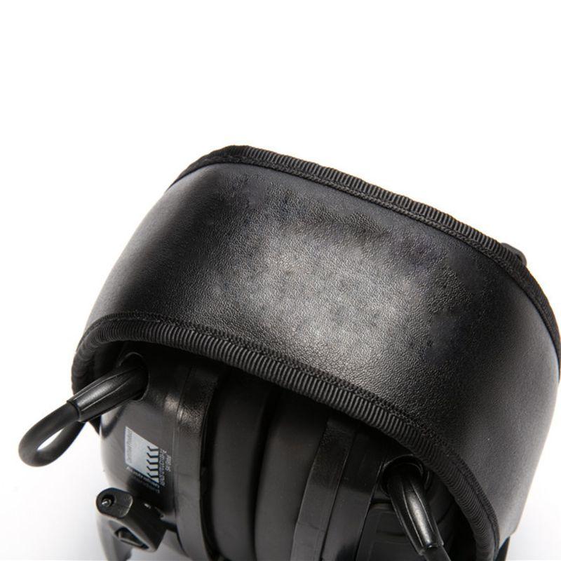 Proteção da orelha dobrável esporte earmuff eletrônico