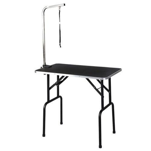 M8 Pets Steel Suspension Grooming Bracket With Sling Adjustable Metal Table Arm Support Dog Cat Holder Desk Pet Products