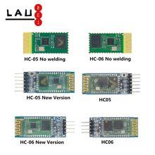 10 pces HC-06 HC-05 hc05 hc06 sem fio bluetooth transceptor escravo módulo conversor e adaptador