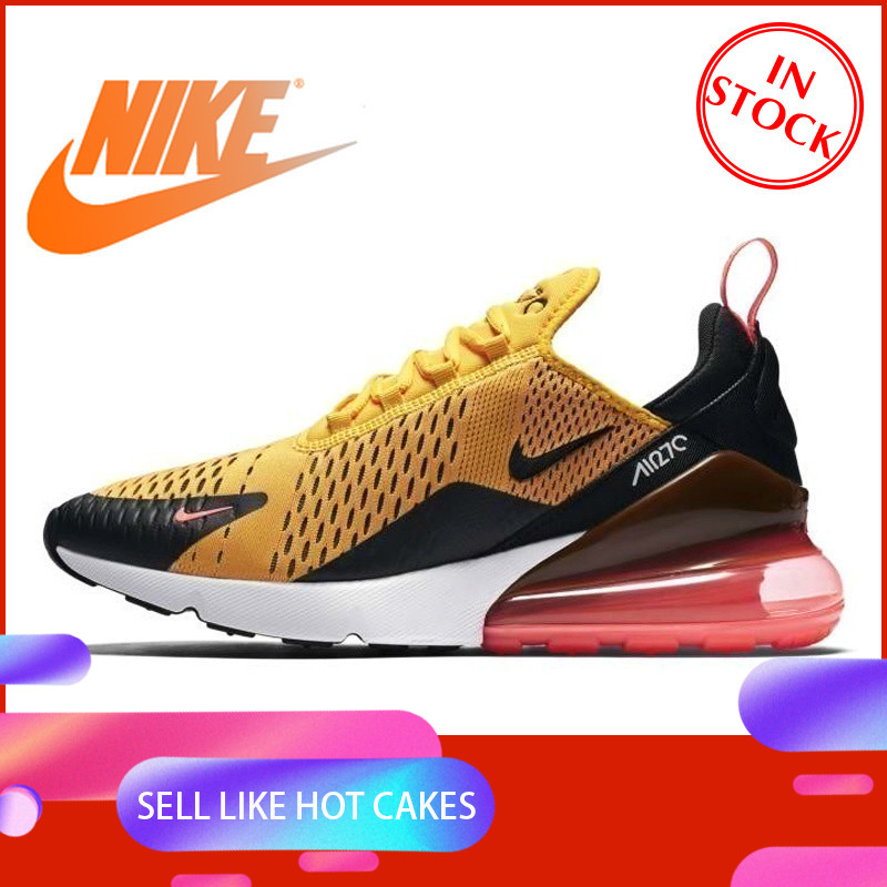Original Authentic NIKE Air Max 270 Men's Running Shoes Full Color Classic Outdoor Sports Shoes New High Quality AH8050-006