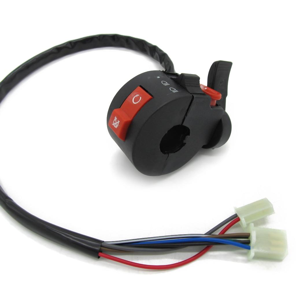 22mm Handlebar Control Left Switch For 50cc 70cc 90cc 110cc 125cc ATV Quad