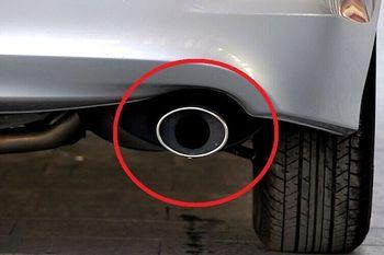 Chrome Exhaust Muffler Tip Pipe For Chrysler Sebring 2007- 2010