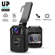 BOBLOV kamera KJ21Pro 2.4G pilot dotykowy ekran HD1296P KJ21 zaktualizowana kamera policyjna Mini kamera kamera ochrony Cam