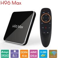 H96max X2 TV Box Android 9.0 Smart TV Box 4GB DDR4 64GB Amlogic S905X2 4K 2.4G 5G WiFi Netflix Youtube H96 MAX 2G16G Set Top Box