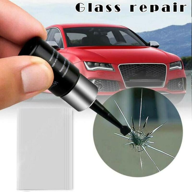 Auto Glass Scratch Crack Restore Tool Car Windshield Repair Resin Kit DIY Car Window Repair Tools Window Glass Curing Glue