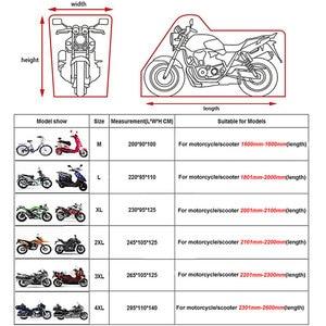 Image 5 - HEROBIKER Waterproof Biker Cover Motorcycle Cover Motorbike Moto Scooter Cover UV Protector Dustproof Motorcycle Raincoat